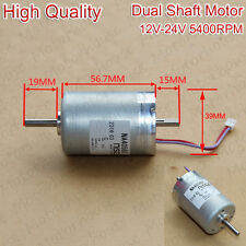 High Quality Dual Double 5mm Shaft DC Electric Motor DC 24V 5400RPM NA4056U