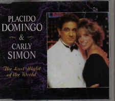 Placido Domingo&Carly Simon-The Last Night Of The World cd maxi single