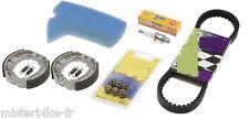Pack Entretien Révision Courroie Filtre galet Bougie LUDIX One 50 (frein à tamb)