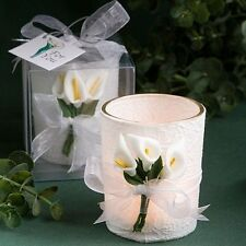 50 Stunning Calla Lily Design Candle Candle Wedding Favors