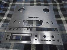 Teac X-1000R Reel To Reel Face Plate Panels P/N 5800269200 5800269300 USED