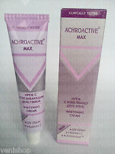 45 ml. ACHROACTIVE MAX SKIN WHITENING LIGHTENING CREAM+ UV FILTER+ VIT.C