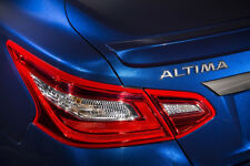 """UN-PAINTED for 2016-17 NISSAN ALTIMA Factory-Style """"NO-DRILL"""" Rear LIP Spoiler"""