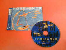 FOREIGNER Until The End Of Time 3 Track UK CD! Lou Gramm
