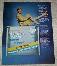 1979 vintage ad page - No Nonsense Pantyhose Sexy Girl legs hosiery Print ADVERT