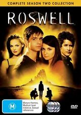 Roswell : Complete Season 2 Collection (DVD, 2006, 6-Disc Set) TV series M Used