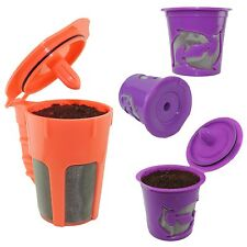 Keurig 2.0 K-cups K-Carafe Refillable Reusable K-cup Coffee Filter Pod Combo