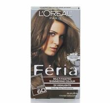LOreal Feria Multi-Faceted Shimmering Color, 60 Light Brown, 1 ea (Pack of 7)