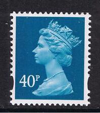 GB QEII SG Y1711. 40p Turquoise-Blue. 2B Elliptical Machin Definitive (ex Y1705)