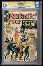 FANTASTIC FOUR #19 CGC 3.0 OWW STAN LEE SS 1ST APP MAD THINKER CGC #1197082032
