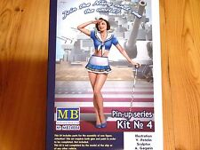 "Masterbox 1:24 ""Suzie"" Kit No.4 Pin Up Serie Figura MODELO CONJUNTO"