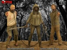 Zombie Hunter with Zombie Pets / 1:35 scale resin model kit