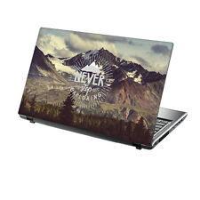 "15.6"" TaylorHe Laptop Vinyl Skin Sticker Decal Protection Cover Adventure 2128"