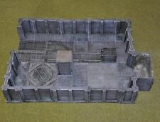 New Miniature Unpainted Resin Mine Track End Room Set Ainsty Dwarven Forge D&D