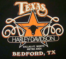 Harley-Davidson Motorcycles Twin Cam T-Shirt (M) Bedford Texas Dallas Ft Worth