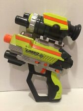 2007 Jakks Pacific Laser Challenge Pro Green Gun Tag Lazer with Scope