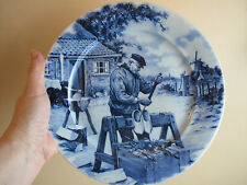 1984 Ter Steege BV Delft Blauw Plate Handdecorated in Holland