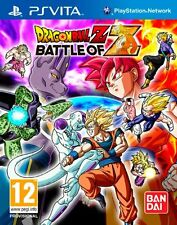 DRAGON BALL Z BATTLE OF Z TEXTOS EN CASTELLANO NUEVO PRECINTADO PS VITA