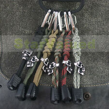 NEW Lanyard Handmade Skull Fob Paracord For Flashlight Keys Knife Whistle Camera