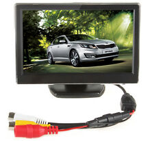 5Inch TFT-LCD Car RearView Monitor VCD/DVD/GPS/Camera Car Monitor 2-CH Video 12V