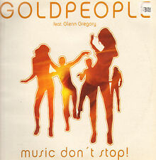 GOLDPEOPLE - Music Don't Stop! - Feat. Glenn Gregory - Do It Yourself Entertainm