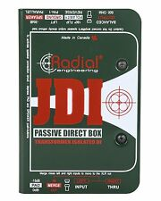 Radial Engineering JDI Mk3  Professional Passive Direct Box w Jensen Transformer