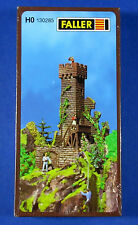 FALLER Castle Tower Ruins Era I 1/87 HO Scale Model Kit NEW, FACTORY SEALED!