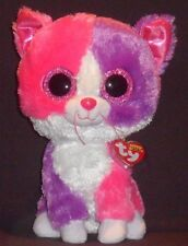 "TY BEANIE BOOS - PELLIE the CAT (CLAIRE'S STORE) - 9"" MEDIUM - MINT TAG"