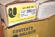 NEW UNIVERSAL 205-TC-P BALLAST 2-40W T12 Fluorescent 120V NOS New Old Stock