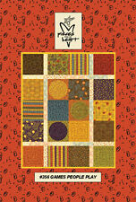 "Pieces from my Heart "" Games People Play"" Pattern FREE US SHIPPING"