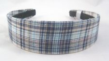 New Plaid Pattern Wide Headband NWT From Target #H0073