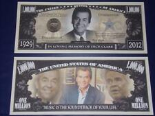 UNC.DICK CLARK NOVELTY NOTE ONLY .25 SHIPPING FREE SHIP + FREE NOTES!