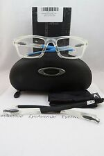 Oakley OX 8037 1154 Crosslink Pitch Clear New Authentic Eyeglasses 54mm w/Box