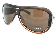 Guess Aviator Sunglasses GU 6363  brown New w Pouch
