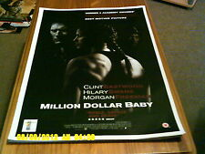 Million Dollar Baby (Clint Eastwood, Hilary Swank, M Freeman) A2+ póster de la película