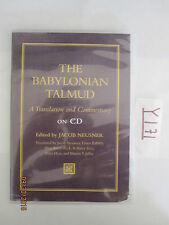 The Babylonian Talmud A Translation and Commentary CD Professor Jacob Neusner