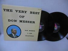 DON MESSER & HIS ISLANDERS old time fiddle music double vinyl lp THE BEST OF