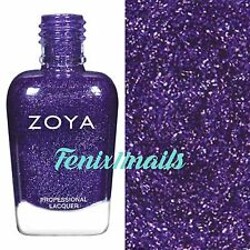 ZOYA ZP860 FINLEY deep purple metallic nail polish ~ URBAN GRUNGE Collection New