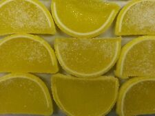 Lemon Fruit Slices Nostalgic Jelly Slice Candy 2 Pounds FREE SHIPPING