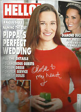 HELLO UK MAGAZINE,    DECEMBER,19th 2016     NO. 1461    PIPPA'S PERFECT WEDDING