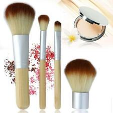 Eco Tools BAMBOO Makeup Brush Set 4 Pcs Make Up Brushes Tools Eyebrow Brushes XJ