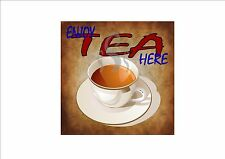 American Vintage Style Diner Sign Cafe Sign Tea Retro Style  Kitchen Sign