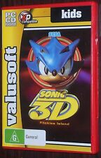 PC CD. Sonic 3D Flickies Island