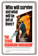 THE TEXAS CHAINSAW MASSACRE FRIDGE MAGNET IMAN NEVERA MATANZA DE TEXAS