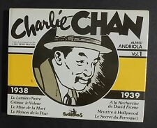 Collection Copyright. CHARLIE CHAN volume 4. ANDRIOLA. Futuropolis 1980