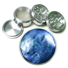 Wolf Aluminum Grinder D9 63mm 4 Piece Wilderness Animal Dog Hunter Predator