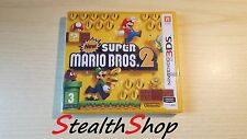 3DS New Super Mario Bros 2 - Brand New Sealed - Nintendo 3DS PAL Multilanguage
