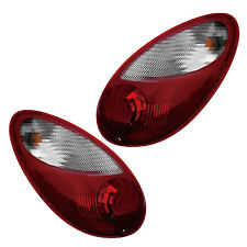06-09 CHRYSLER PT CRUISER Rear Tail Light Lamp Pair Set