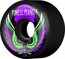 Powell Peralta BOMBERS III Skateboard Wheels BLACK 60mm 85a