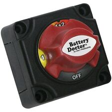 NEW Battery Doctor 20393 Mini Master Disconnect Switch (dual Battery, 4 Posi